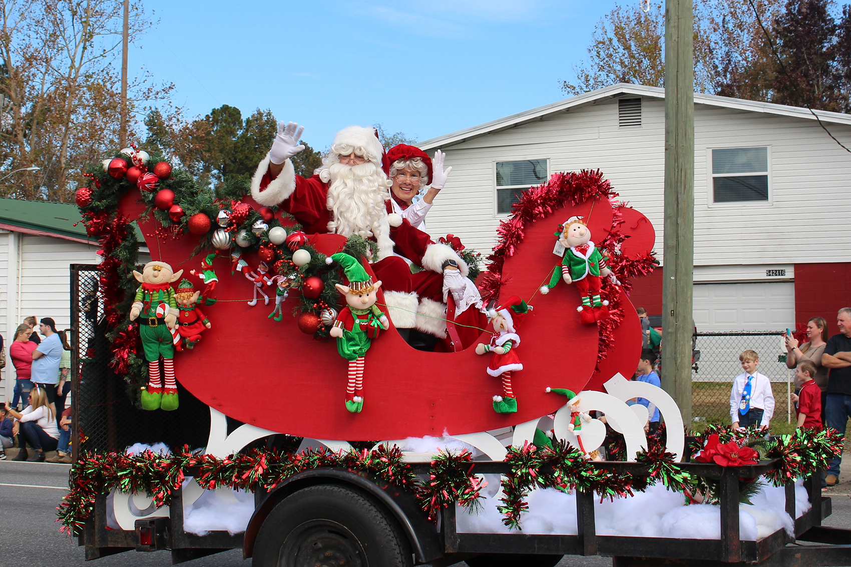 "The West Nassau Band Boosters present the ""A Superheroes Christmas"" parade in conjunction with the Town of Callahan Saturday at 11 a.m. The parade departs Dixie Avenue and heads south on U.S. 1 before turning right onto Fifth Avenue."