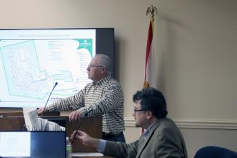 Residents spoke for and against the RV park and water park plan.