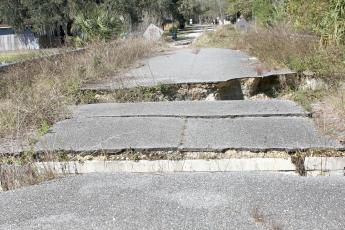 Hilliard's Orange Street awaits repair after closing due to damage caused by Hurricane Irma in 2017.
