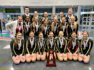 The West Nassau High School cheerleaders dominate the competition again to win the state title in the Florida High School Athletic Association's Class 1A Medium Non-Tumbling category. The team, coached by Samantha Beazley, earned a 93.8, which was the only score in the 90s achieved by any team in Class 1A or 2A during the competition.