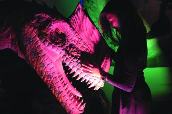 The Museum of Science & History in Jacksonville, also known as MOSH, reopened June 15, debuting its summer traveling exhibition, Dinosaurs Around the World. Through Oct. 4, visitors can explore Earth in the time where dinosaurs roamed.